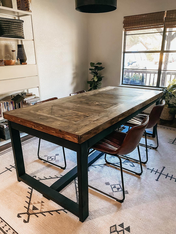 Modern Farmhouse Dining Table, Modern Farmhouse Dining Room